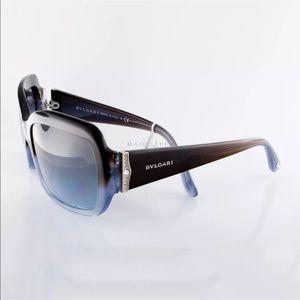 BVLGARI 8952B Sunglasses w/ Swarovski Crystals